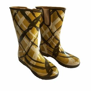 Sperry Top Sider Patterned Rubber Rain Boots